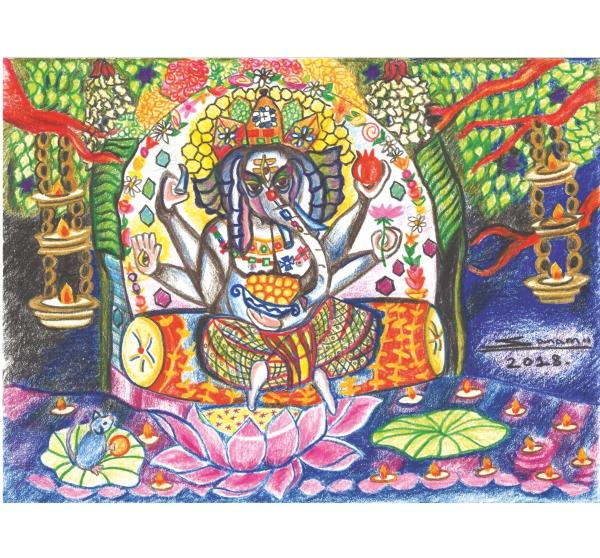 Ganesha Ji Diwali